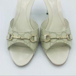 Gucci Shoes - AUTHENTIC GUCCI GUCCISSIMA LOGO MULES